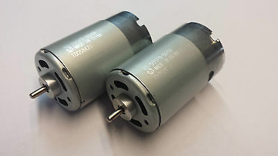 2 Stück Motor Speed 600 BB Turbo 12V /  Bürstenmotor Kugellager Mabuchi RS 555PB