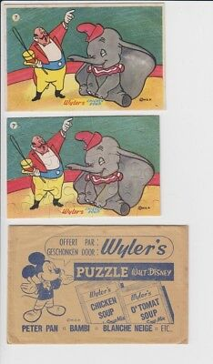 Wyler's Chicken Soup Vintage Puzzle Dumbo
