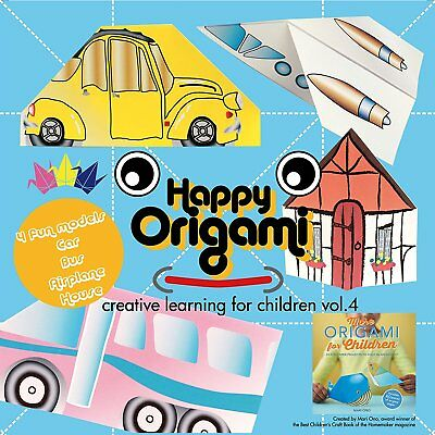 Travel Fun Origami Paper Kit for Children