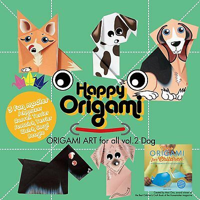 Dogs Fun Origami Paper Kit for Children