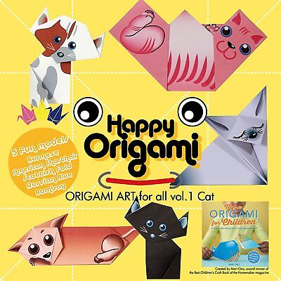 Cats Fun Origami Paper Kit for Children
