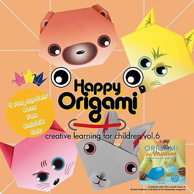 Animal Fun Origami Paper Kit for Children