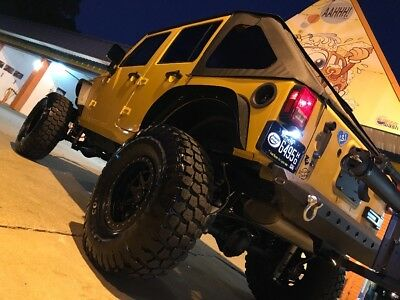 2013 Jeep Wrangler  2013 Jeep Rubicon Unlimited Long Armed On 37'S DV8