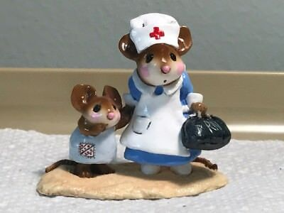 Wee Forest Folk Nurse with Small Child