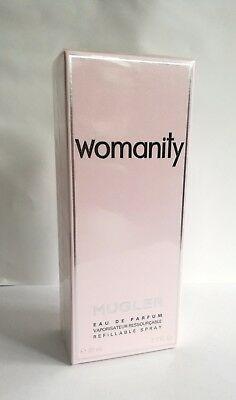 Thierry Mugler Womanity Eau de Parfum 80 ml Spray EDP NEU & OVP