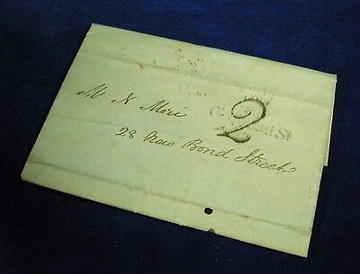 1837 Entire Letter to London
