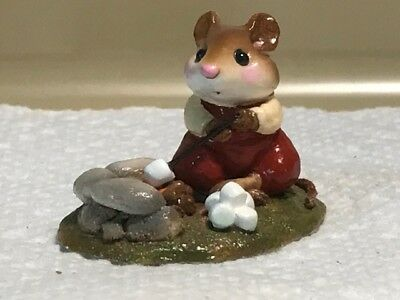 Wee Forest Folk Campfire Mouse