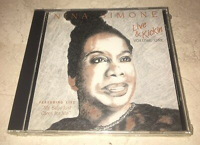"NEW CD Nina Simone - Live & Kickin Volume One - Live ""My Baby Just Cares For Me"""
