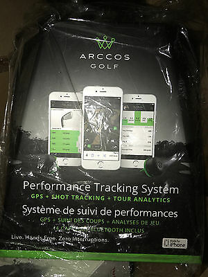 Arcos Golf Performance Tracking System !