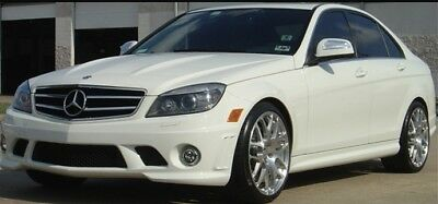 Mercedes C Class W204 C63 Amg Style Bumpers Side Skirts Body Kit upgrade 07-2011