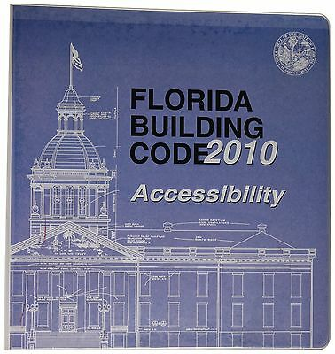 2010 Florida Building Code - Accessibility NEW AND SEALED! RING-BOUND