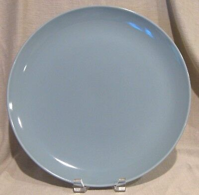Russel Wright Iroquois Casual Blue Chop Plate