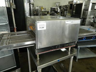 Lincoln Model 1302 Impinger Electric Countertop Extended Conveyor Pizza Oven