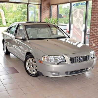 2005 Volvo S80 2.5T AWD Sedan 4-Door 2005 Volvo S80 2.5T AWD Sedan 4-Door 2.5L ONE OWNER Like New!  Incredible!