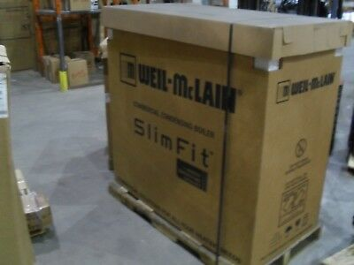 Weil Mclain 383-600-331 750,000 BTU NG/LP Water High Efficiency Boiler Slim Fit