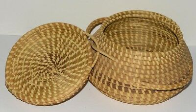 Low Country Sweetgrass  Basket, Handcrafted