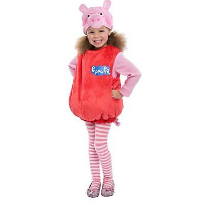 NEW Peppa Pig Bubble Costume Girls Toddler Kids size 2T Licensed Oufit Palamon
