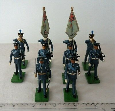 Britains - Royal Airforce Collectable Series Colour Party Soldiers - See Below