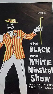 The Black and White Minstrel Show Theatre Programme. 1962. Victoria Palace.