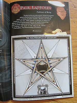 Paul Laffoley Alex Grey COSM Journal of Visionary Culture Issue #1