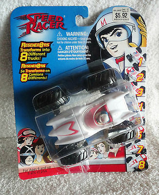 Speed Racer - Regener8'rs Mach 5 -TransForms into 8 Different Trucks / Cars