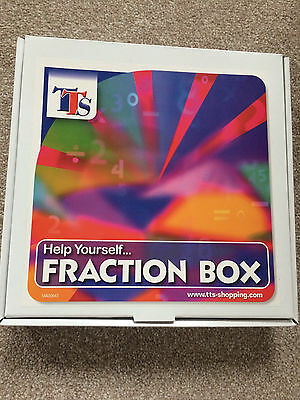 TTS Fraction Box Maths Help Educational Toys Home Learning School New Unopened