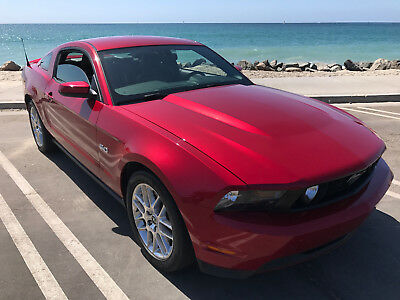 2012 Ford Mustang Coupe 2012 Ford Mustang GT Premium Coupe - Candy Apple Red