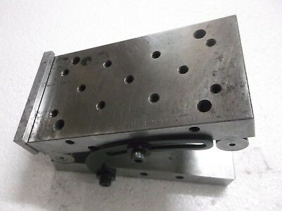 MACHINIST LATHE MILL Tool Makers Adjustable Sine Plate Block Fixture 3x6x2 1/2