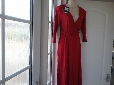 Super new with tags carmaine red neale wrap maternity dress