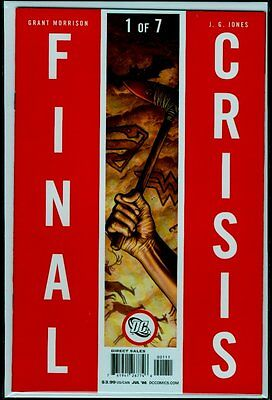 DC Comics FINAL CRISIS #1 NM 9.4