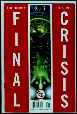 DC Comics FINAL CRISIS #2 NM+ 9.6