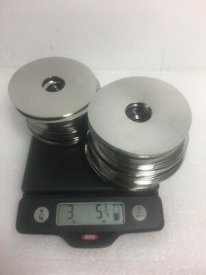 3 Lbs 5 Oz  Hard Drive Platters, 60+ pcs for Platinum recovery
