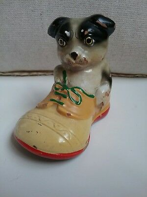 vintage dog pencil sharpener