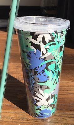 Vera Bradley Travel Tumbler in Camofloral, Drink Cup, BOXED, NWT