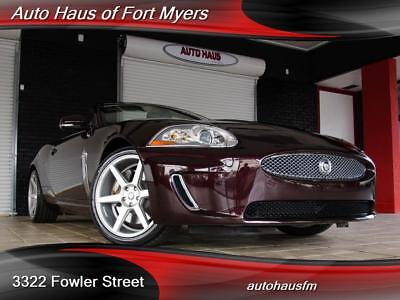 2011 Jaguar XK 8 Convertible We Finance & Ship Nationwide Navigation Heated/Cooled Seats Heated Steering Whee