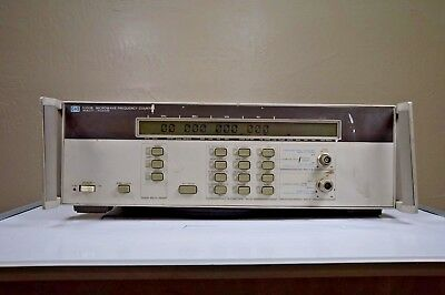 HP Agilent 5350B Microwave Frequency Counter OPT 001 Oven Time Base