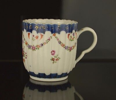 A  Very Fine And Perfect Chinese 18Th Century Porcelain Cup Copying Worcester