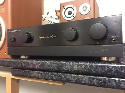 Hi End Pioneer A-400X Stereo Integrated Amplifier Hi-Fi Separate MM/MC Phono Amp