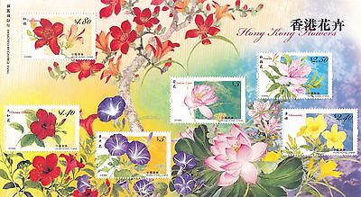 "Hong Kong, 2008, ""hong Kong Flowers"" Full Sheet Mint Nh Fresh"