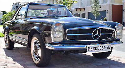 1966 Mercedes-Benz SL-Class 230SL Pagoda Convertible Top Concourse Quality 1966 Mercedes Benz 230SL Pagoda Top Concourse Nut & Bolt Restoration