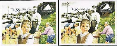 Australia  Norfolk Island 2000.whaler Project Mini Sheet. & Opt M/s.stamp Show