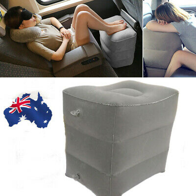 Inflatable Travel Footrest Leg Rest Travel Pillow Kids' Bed to Lay Down NEW HOT