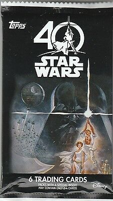 2017 TOPPS STAR WARS 40th ANNIVERSARY Buyback/Auto/Sketch HOT PACK