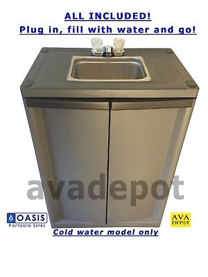 Portable Sink Self Contained Hand Washing Station Cold Water Only