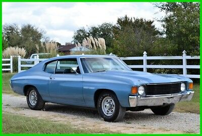 1972 Chevrolet Chevelle Heavy Chevy 1972 Chevy Chevelle Heavy Chevy 402, MC1, AC, Super Survivor, 1-Owner