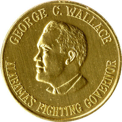 george wallace alabama fighting governor coin