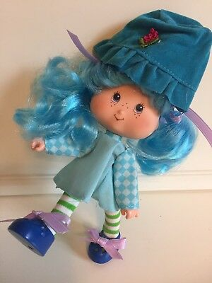 Strawberry Shortcake THQ Doll - Blueberry Muffin: Berry Neat Eats (1991)