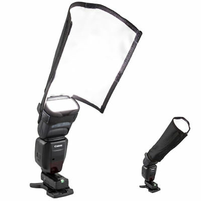 New Foldable Speedlight Reflector Snoot Sealed Flash Softbox Diffuser Bender