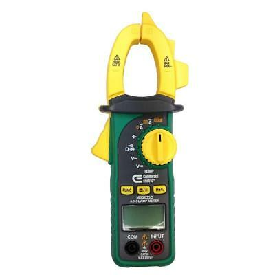 Commercial Electric LCD Digital Clamp Meter MS2033C