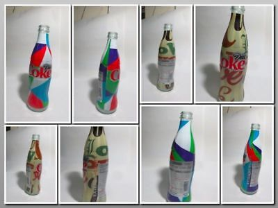 COCA COLA DIET STAY EXTRAORDINARY 350ml10 empty glass bottle. Israel Original